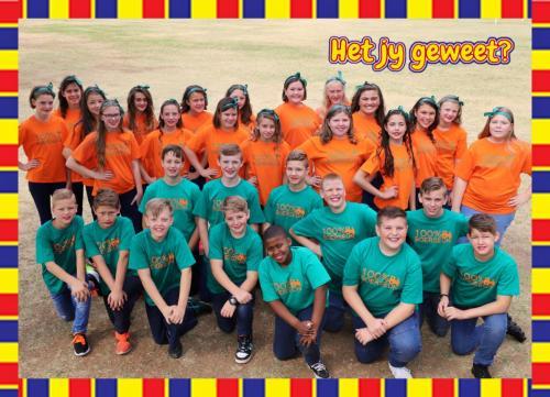 Gr 6 - Dans in Afrikaans